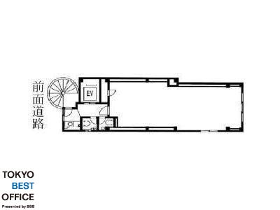 星野神田西口ビル 4階間取りのサムネイル画像