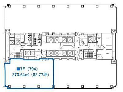 紀尾井町ビル 7階704号室間取りのサムネイル画像
