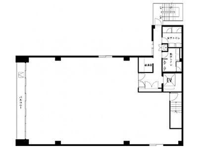 フォレスト秋葉原ビル 3階間取りのサムネイル画像