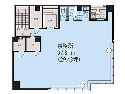 東京建物八重洲仲通りビル 8階間取りのサムネイル画像