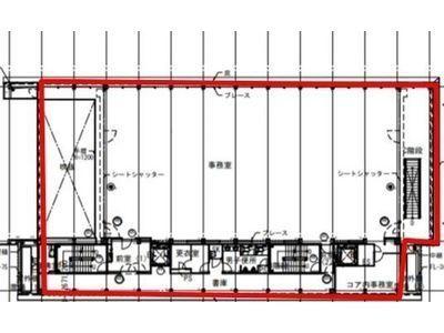 Harbor Premiumビル 4階~5階間取りのサムネイル画像