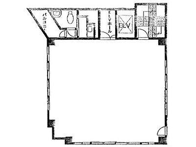 ヘミニスⅡビル 4階間取りのサムネイル画像