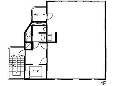 池袋C3ビル 4階(店舗可)間取りのサムネイル画像
