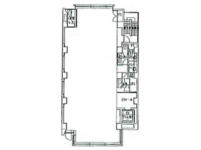一番町ビルディング(一番町ビルヂング) 6階間取りのサムネイル画像