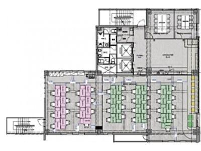 THE WAVES AKIHABARA(旧:ミユキビル) 4階間取りのサムネイル画像