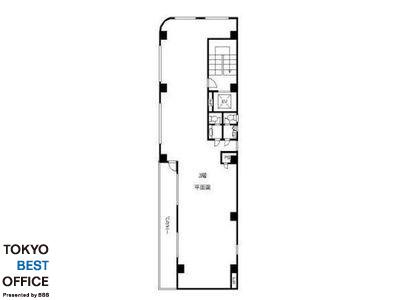 新八光ビル 3階(店舗可)間取りのサムネイル画像