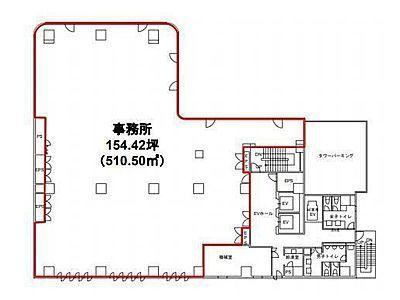 東池袋センタービル 4階間取りのサムネイル画像