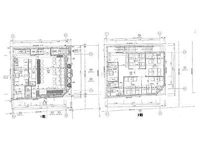 REビル 1階~2階(店舗限定)間取りのサムネイル画像