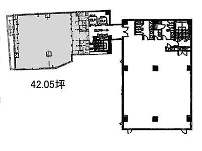 コア本郷ビル 4階B間取りのサムネイル画像