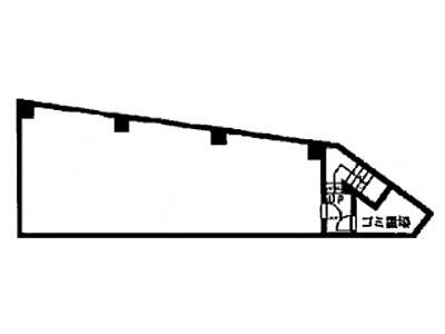 地下1階(店舗可)の間取り画像