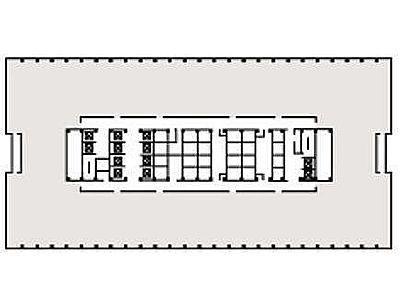霞が関ビルディング 6階628間取りのサムネイル画像