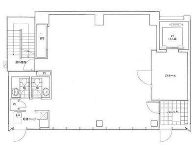 築地シティプラザ 6階間取りのサムネイル画像