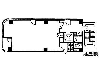 VORT神保町Ⅱ(旧:鉄建神保町ビル) 5階間取りのサムネイル画像