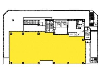 (仮称)神南一丁目計画 1階(店舗限定)間取りのサムネイル画像
