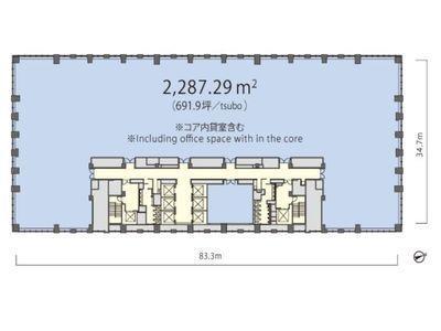 丸の内トラストタワー本館 25階