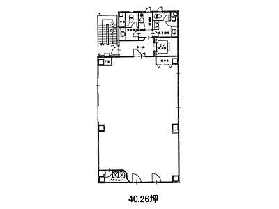 千洋ビル 4階間取りのサムネイル画像