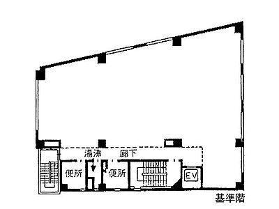 明治安田生命目黒ビル 4階間取りのサムネイル画像