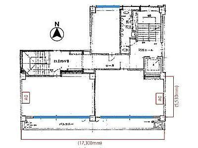 7階(店舗可)の間取り画像