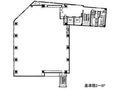 青山ファーストビル 6階間取りのサムネイル画像