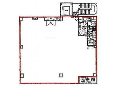 ワールドビル 5階間取りのサムネイル画像
