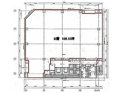 オリックス池袋ビル 8階(店舗可)間取りのサムネイル画像