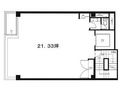 木村実業第2ビル 5階間取りのサムネイル画像