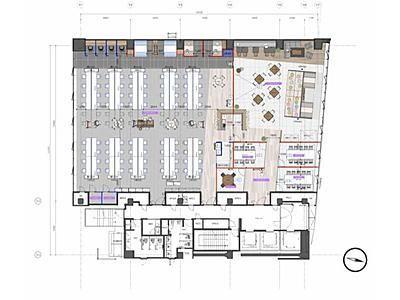 麹町フロントビル 10階間取りのサムネイル画像
