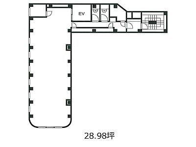 8階(店舗可)の間取り画像