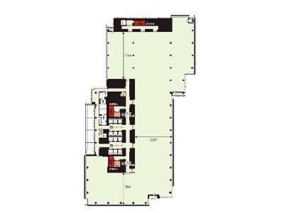 ミッドタウン・イースト 5階502間取りのサムネイル画像