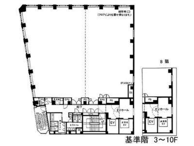 アクロス新川ビル・アネックス 5階間取りのサムネイル画像