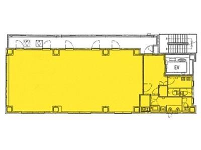 一広グローバルビルディング 8階間取りのサムネイル画像