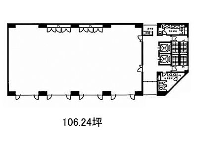 木場KIビル 6階(店舗可)間取りのサムネイル画像