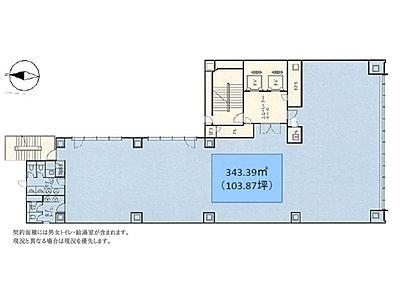 Daiwa神保町3丁目ビル 2階間取りのサムネイル画像