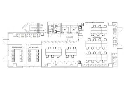 北大手町スクエア(旧:(仮称)内神田1丁目ビル・オザックスビル) 4階(店舗可)間取りのサムネイル画像