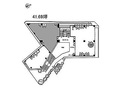 CASCADE HARAJUKU 1階1-2(店舗限定)間取りのサムネイル画像