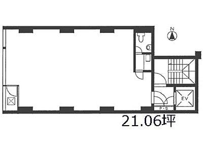 ヴェルコ黒門 2階間取りのサムネイル画像