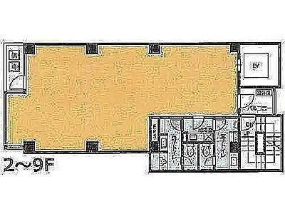 8階の間取り画像