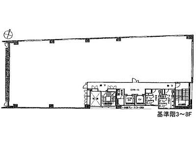 TODA BUILDING青山 5階間取りのサムネイル画像
