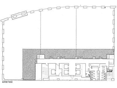 KDX浜松町プレイス 2階間取りのサムネイル画像