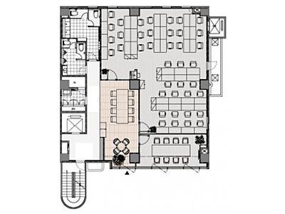 TBCビル 2階~3階間取りのサムネイル画像