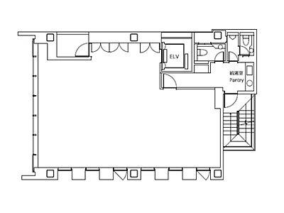 日総第25ビル 6階間取りのサムネイル画像