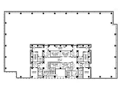 六本木ティーキューブ 7階701間取りのサムネイル画像