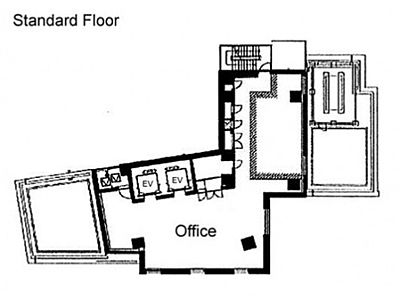 9階(店舗限定)の間取り画像