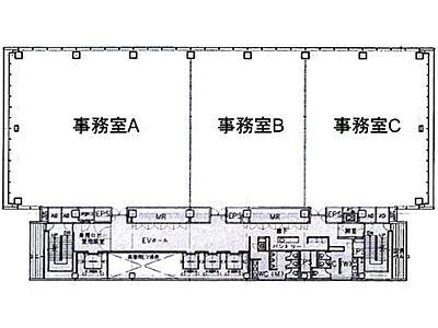 大崎ウィズタワー 9階A間取りのサムネイル画像