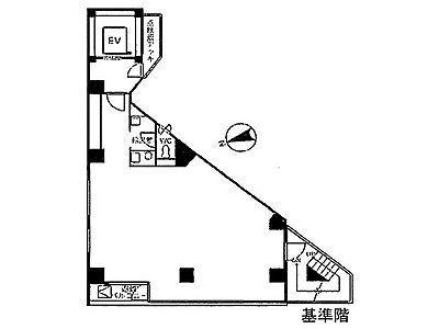 秋葉原シグマビル 8階間取りのサムネイル画像