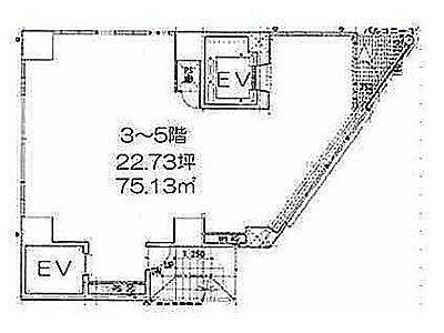 LASPACIO浅草レジデンス 5階(店舗限定)間取りのサムネイル画像