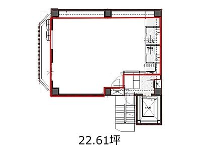 UD内神田三丁目ビル 6階間取りのサムネイル画像