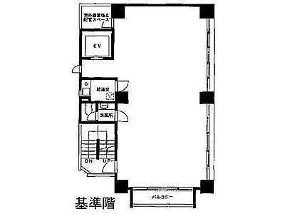 VORT神田 5階間取りのサムネイル画像