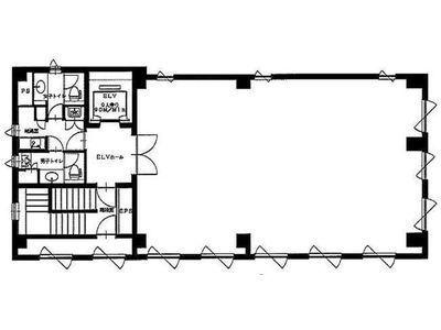 湊日本ビル 3階間取りのサムネイル画像