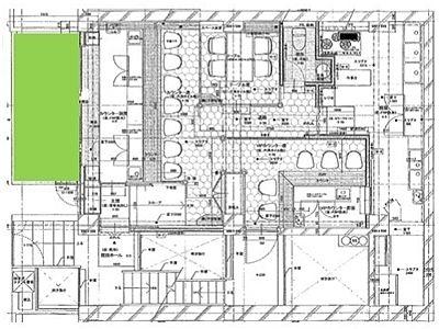 パレロワイヤル西麻布 1階(店舗限定)間取りのサムネイル画像